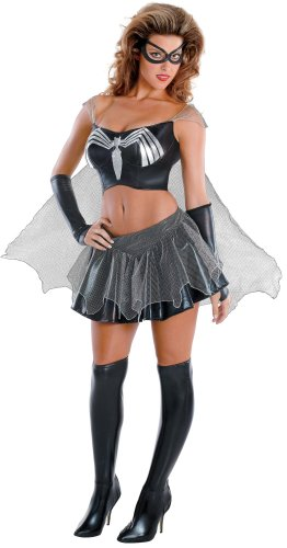 Black-Suited Spider-Girl Sassy Prestige Adult Costume Size 12-14 Large