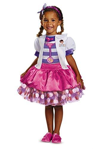 Disney Doc Mcstuffins Tutu Deluxe Toddler Costume, -