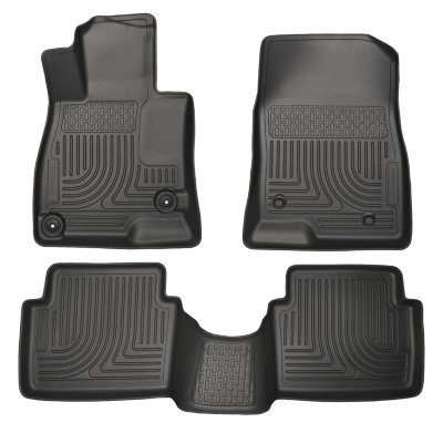 HUSKYLINER 95741 Black Front Seat Floor Liners WB 2nd 18 ACCORD