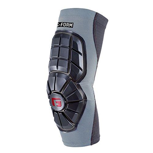 G-Form protector de codo béisbol Pro extendida, Plateado claro, Adulto, grande