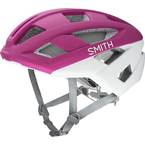 Smith Optics 2019 Route Adult MTB Cycling Helmet - Matte Berry/Vapor/Medium