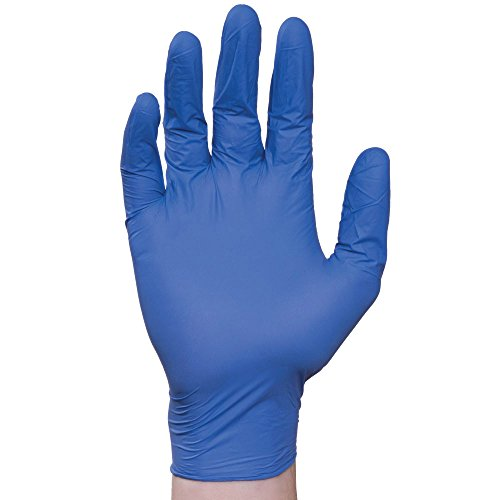 Elara FND204 Dextrafit Disposable Nitrile Glove, Ultra-Comfort, 2 mil, Phthalate Free, PVC Free, BPA Free, Latex Free, Powder Free, Food Service, Industrial, Janitorial, Size X-Large (Case of 1000)