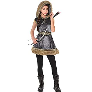 Amscan Girls Miss Archer Costume - Large (12-14), Multicolor