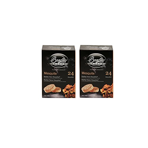Bradley Smokers Bisquettes, Mesquite, 24-Pack 2 by BRADLEY SMOKERS
