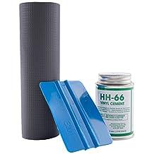 "Powerblanket VRKBLK Patch Kit, HH-66 Adhesive, 12"" L X 3"" W of Vinyl, Black"