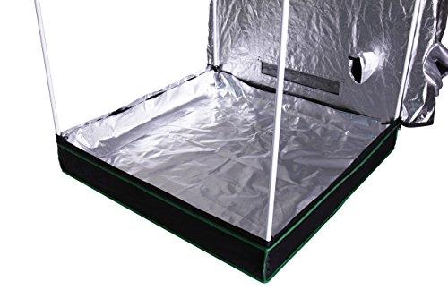"41dUhGvaArL - Hydro Crunch Hydroponic Grow Tent, 48"" x 48"" x 80"""