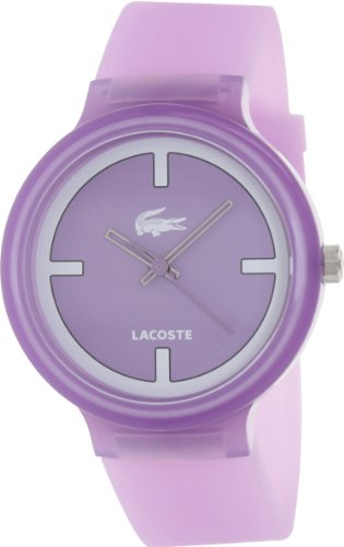 Lacoste Goa Purple Unisex Watch 2020026