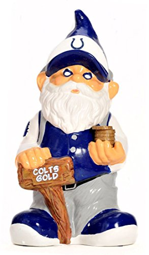 (NFL Indianapolis Colts Team Gnome Bank)