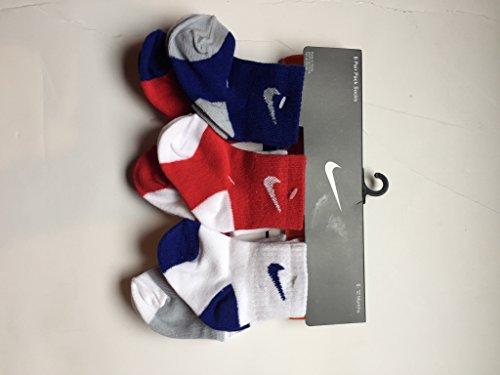 Nike Baby Boy's, 6 Pair Pack Socks (6-12 Months)