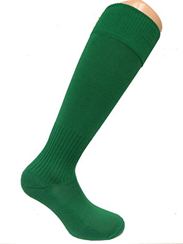 SOC COM Poly Pro Soccer Socks, Kelly, Large - - Kelly Green Sox