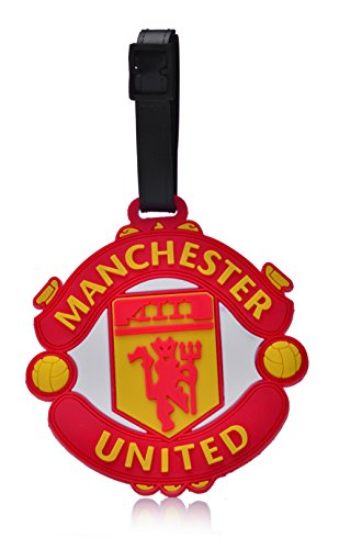 REINDEAR Soccer Football Club Team Logo Heavy Duty Baggage Travel Luggage ID Tag US Seller (Manchester United F.C.)