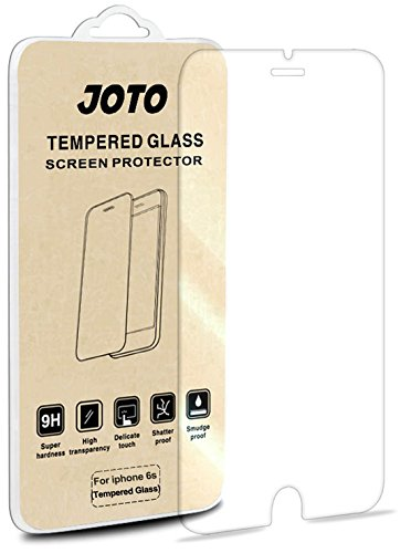 iPhone 8, 7, 6S 6 Tempered Glass Screen Protector - JOTO 0.33 mm Rounded Edge Tempered Glass Screen Protector Film Guard for Apple iPhone 8 2017 Release, iPhone 7 iPhone 6S / 6 4.7 inch (1 Pack)