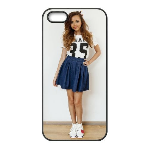 Jade Thirlwall 004 coque iPhone 5 5S cellulaire cas coque de téléphone cas téléphone cellulaire noir couvercle EOKXLLNCD24652