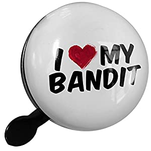 Small Bike Bell I heart love my Bandit - NEONBLOND by Neonblond