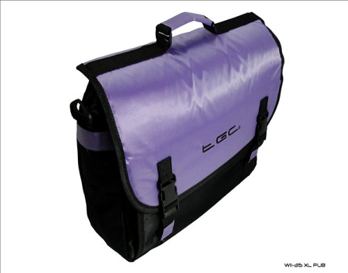 for TGC amp; Black 2450 Purple Style Pro 2350 Bag Novatech Laptop Messenger nSpire RUxqw