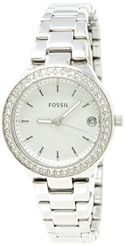 Fossil Women's 'Blane' Quartz Stainless Steel Casual Watch, Color:Silver-Toned (Model: (Fossil Set Wrist Watch)