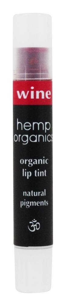 Colorganics Inc., Hemp Organics, Lip Tint, Wine, .09 oz (2.5 g)