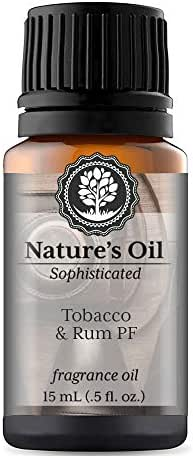 Tobacco & Rum PF Fragrance Oil (15ml) For Cologne, Beard Oil, Diffusers, Soap Making, Candles, Lotion, Home Scents, Linen Spray, Bath Bombs