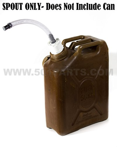 Scepter Military Fuel and Jerry Can Spout