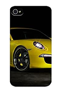 Inthebeauty Fashion Phone Cars Tuning Techart Porsche 911 Case For Apple Iphone 5/5S Case Cover / Perfect Case Cover
