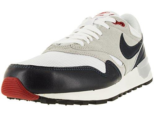 NIKE Men's Air Odyssey White/Drk Obsdn/NTRL Gry/Unvrs Running Shoe 8 Men US