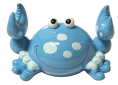 kmp Blue Bobble Claw Crab Coin Bank ()