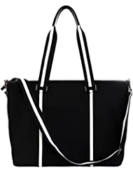 BfB Neoprene Laptop Bag for Women – No More Boring Briefcases – Here's a 17 Inch Computer Bag Thats Lightweight...