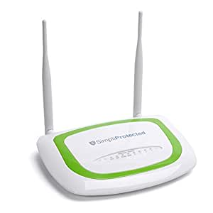 SimpliProtected - Wi-Fi Router with Internet Filtering - Easy Setup / No Subscription Costs