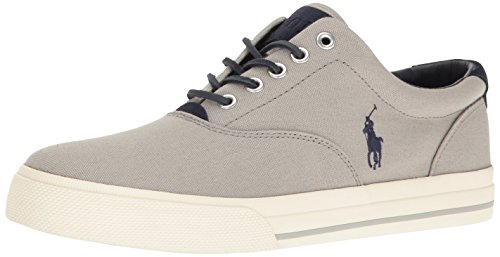 Polo Ralph Lauren Men's Vaughn, Grey/New Glacier, 11 D US