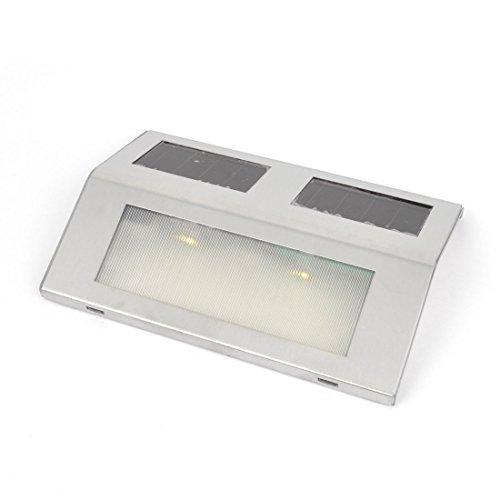 Cerca del jardn del LED de pared exterior Canaln Ruta de la escalera caliente de la lmpara de la luz blanca