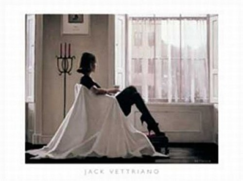 Posters: Jack Vettriano Poster Art Print - In Thoughts Of You