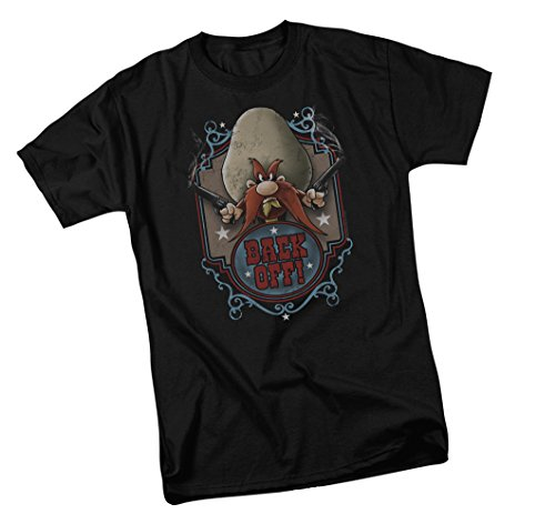 Tunes Looney T-shirt Youth - Back Off -- Looney Tunes Youth T-Shirt, Youth X-Large