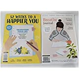 BREATHE Journal Guided 52 Week Planner + 52 Weeks to a Happier You - 2 Magazines