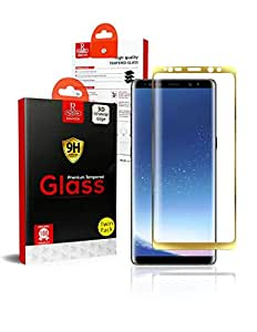 Samsung Galaxy Note 8 Remson 3D Tempered Glass Screen Protector TWIN PACK - Gold