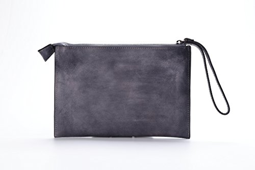 Tote Messenger Leather Bags Cross Genuine Vintage Bag Gray Body Shoulder Handbag Bag qEO8zx5
