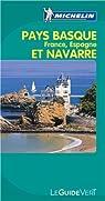 Guide Vert Pays Basque (français et espagnol) et Navarre par Michelin