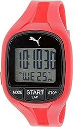 Puma Men's PU911141002 Red Rubber Quartz Watch