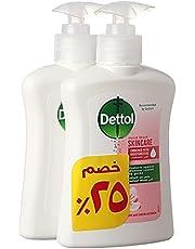 Dettol Skin Care Liquid Hand Wash, Set of 2 Pieces - 200 ml