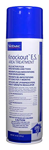 (Virbac KnockOut E.S. Area Treatment 16 oz)