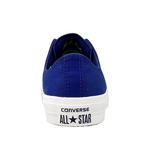 Converse Chuck Taylor All Star II OX (150152C) Weiß-Dunkelblau