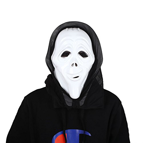 Kicode Halloween Horror Scary Costume Bloody Face Mask Full Head Fancy Dress Make Up Party
