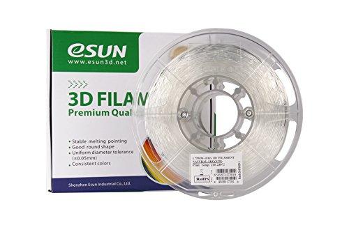 eSUN filament 1 75mm Natural Semi Transparent