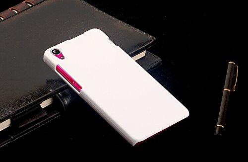 Dimike PC Ultra Slim Hard Back Case Protector Cover for Lenovo S850 S850T Smartphone(White)