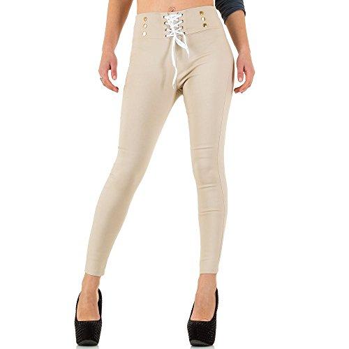 iTaL-dESiGn - Pantalón - skinny - para mujer Beige