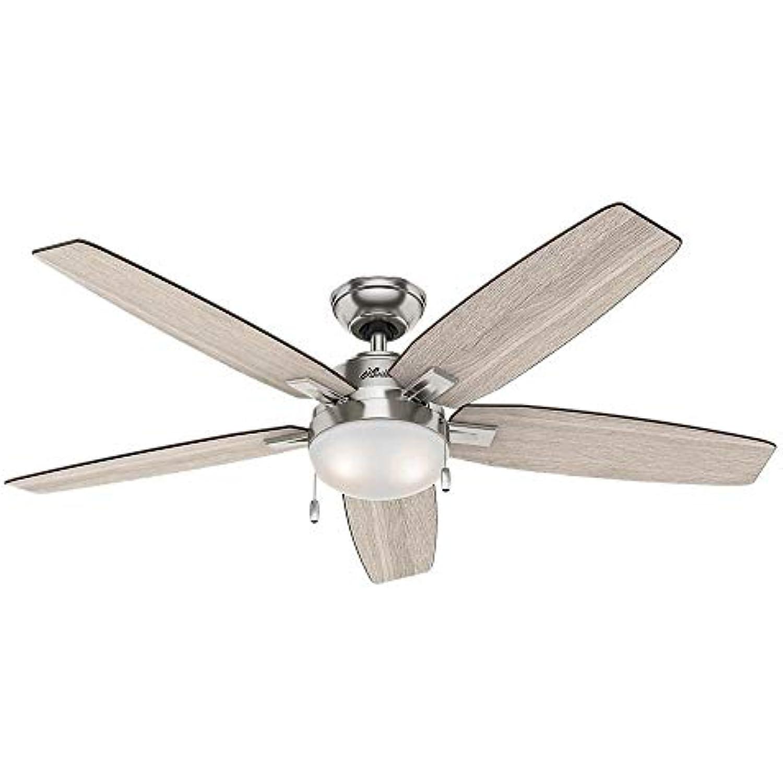 Hunter 59183 Antero 54 in LED Indoor Brushed Nickel Ceiling Fan