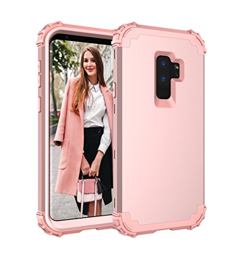 Galaxy S9 Plus Case,CASY MALL 3-Layers Heavy Duty Hybrid Full-Body Protect Case for Samsung Galaxy S9 Plus 2018 Release