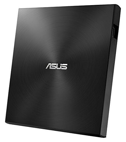 Asus Zen Drive 2 externer Ultra SLIM DVD Brenner (inkl. 2 M-Disk Rohlingen, Brennsoftware & Nero Backup App, 8x DVD±R, 6x DVD±R DL, 5x DVD-RAM, USB 2.0) schwarz