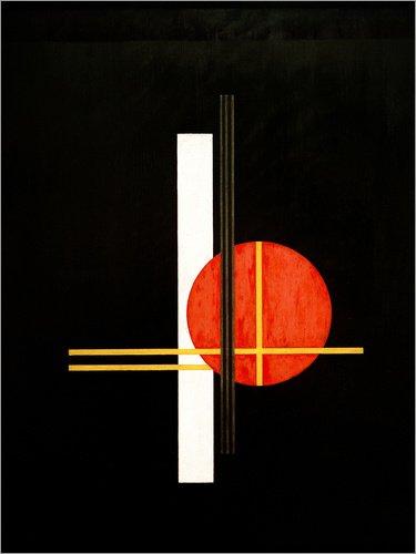 Composition Q XX by L/ászl/ó Moholy-Nagy//akg-images Posterlounge Acrylic print 30 x 40 cm