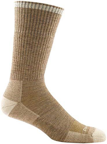 Darn Tough Vermont Men's John Henry Boot Cushion Socks, Sand, M by Darn Tough