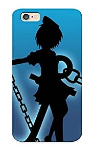Premium BhhrdAb1159CIQAO Case With Scratch-resistant/ Mato Kuroi - Black Rock Shooter Case Cover For Iphone 6